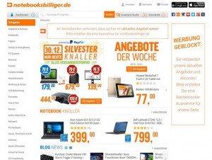 notebooksbilliger.de Startseite