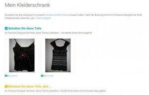 3compliments Kleiderschrank-Check Ergebnis 1