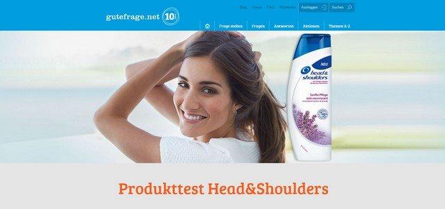 Produkttests auf gutefrage.net