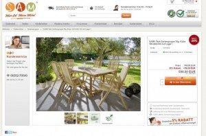 SAM - Stil Art Möbel Produktbeschreibung 1