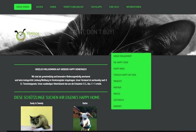 Aktion Tierisch Happy e.V. - Adopt, don't buy!