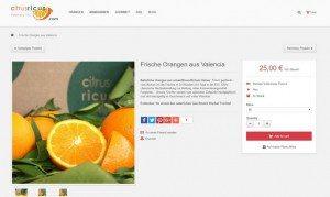 citrusricus Orangen