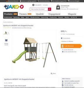 JAKO-O Produktbeschreibung 1