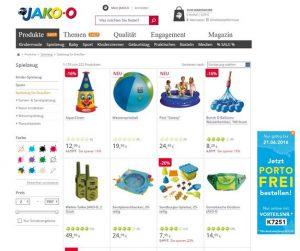 JAKO-O Spielzeug für draußen Übersicht