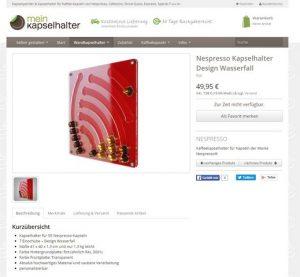 MeinKapselhalter.de Produktbeschreibung
