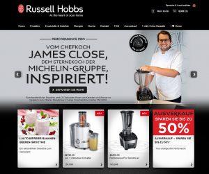 Russell Hobbs Startseite