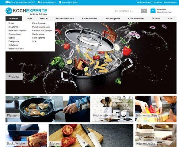 kochexperte.com Startseite