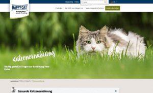 Happy Cat Katzenernährung