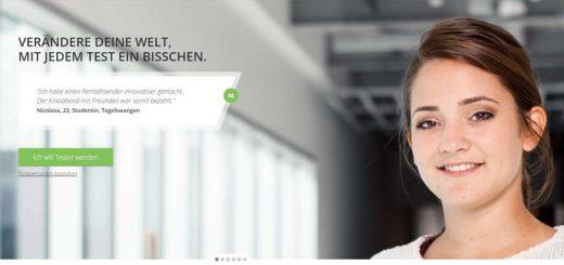 TestingTime - Portal für Benutzertests vorgestellt