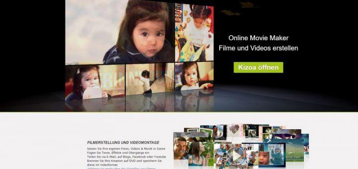 Kizoa Online Movie Maker im Test