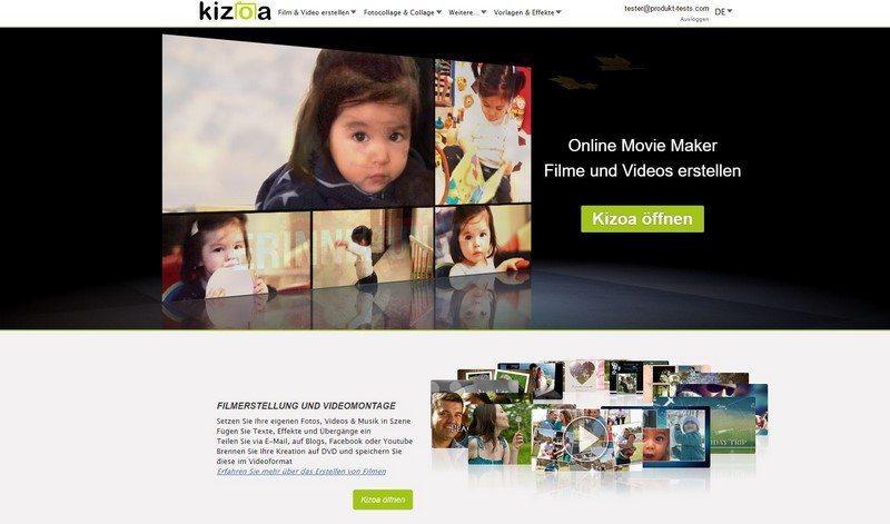 kizoa-startseite