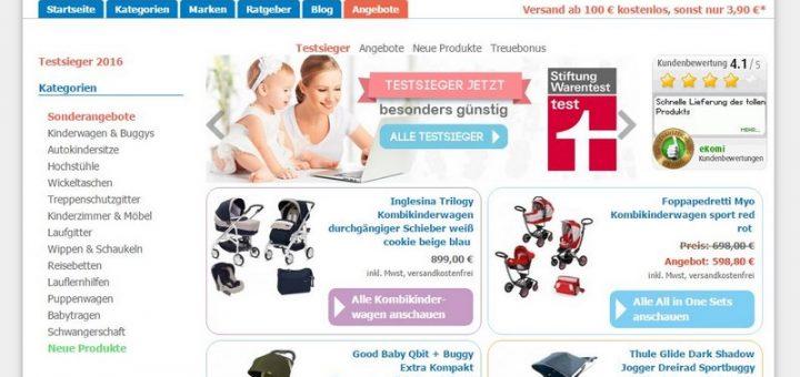 kinderwagen.com vorgestellt