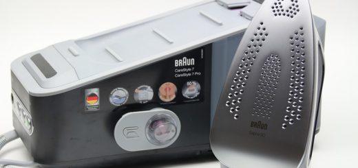 Braun CareStyle 7 Dampfbügelstation im Test