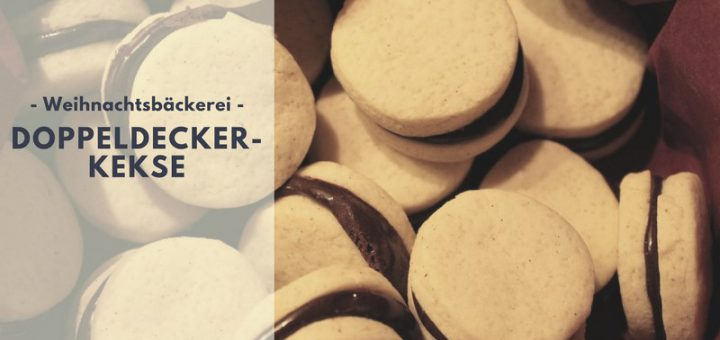 Rezept: Doppeldeckerkekse mit Kakaocreme