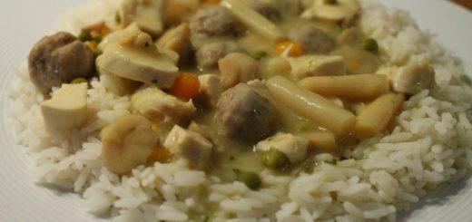 Rezept: Hühnerfrikassee & Hühnersuppe nach Mutti