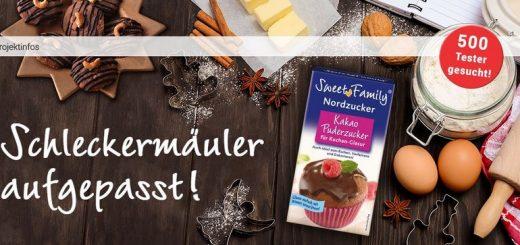 brandnooz sucht 500 Tester für den neuen Kakao-Puderzucker von SweetFamily