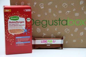 Degustabox Dezember 2016 vorgestellt