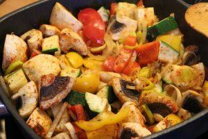 Rezept: Gemüseauflauf nach Danny