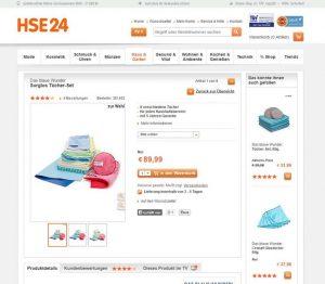 """Brillant Reinigungstücher von """"Das blaue Wunder"""" von HSE24 im Test"""
