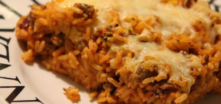 Rezept: Mexikanischer Reisauflauf