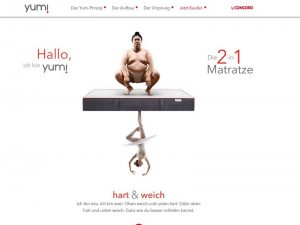 Yumi by Matratzen Concord im Test
