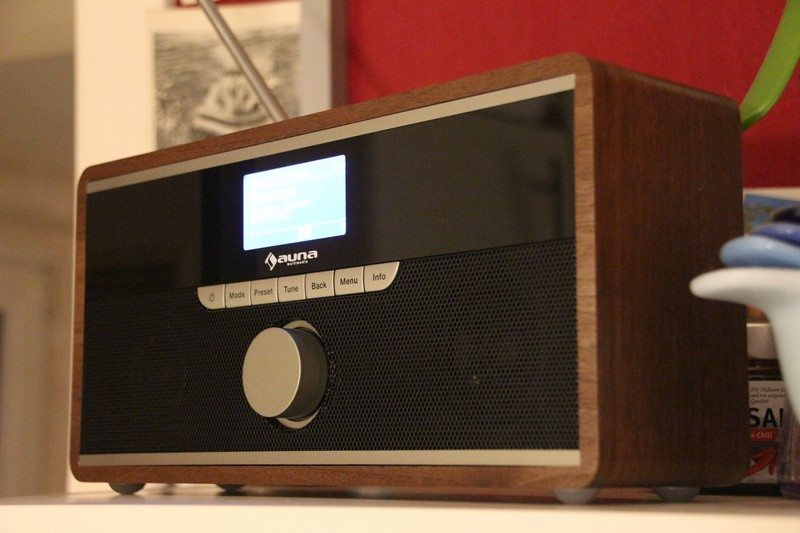 auna weimar dab radio internet radio im test. Black Bedroom Furniture Sets. Home Design Ideas