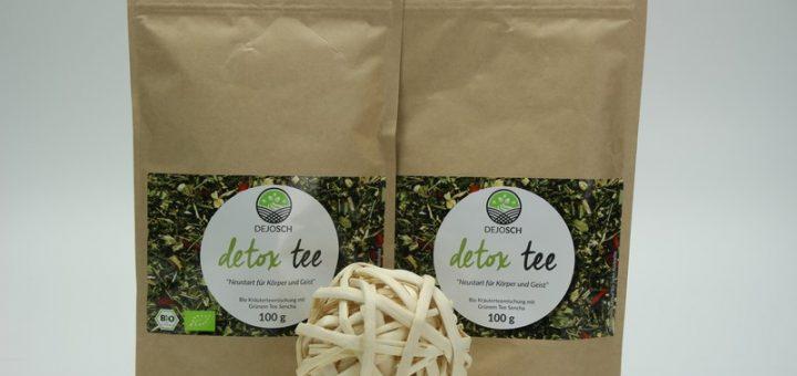 DEJOSCH Detox Tee im Test