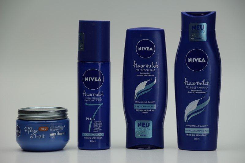 NIVEA Haarmilch Pflegeserie im Test
