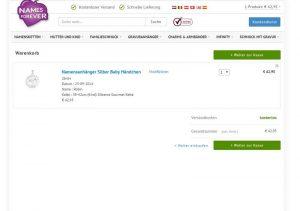 Namensschmuck von Namesforever.de vorgestellt