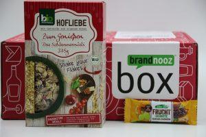 brandnooz Genuss Box März 2017 vorgestellt