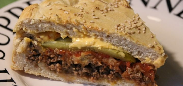 Rezept: Cheeseburger Cake