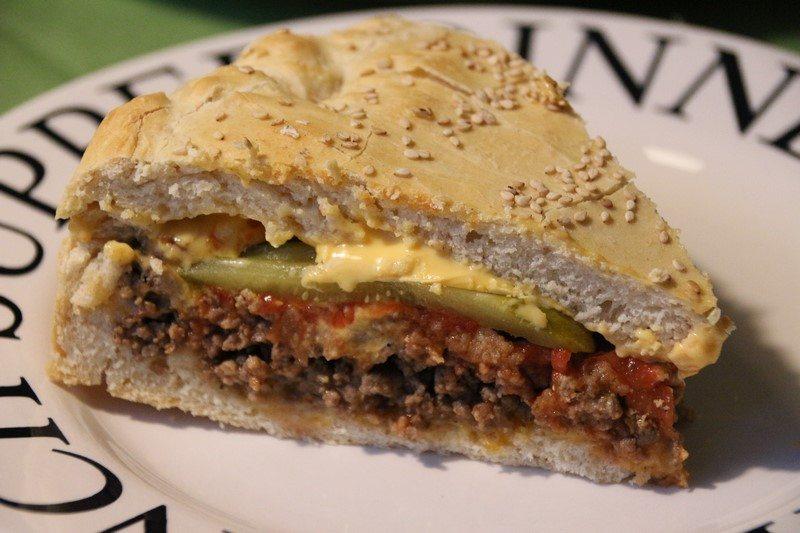 Rezept: Cheeseburger Cake