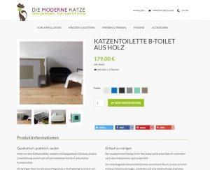 b-toilet von DIE MODERNE KATZE im Test