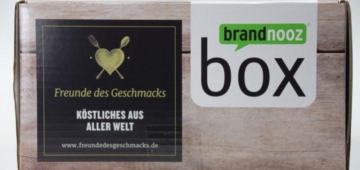 """brandnooz """"Freunde des Geschmacks"""" Box vorgestellt"""