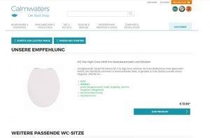 Tolles Sitzgefühl mit WC-Sitzen von Calmwaters.de
