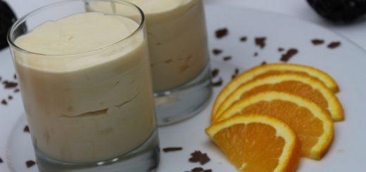 Rezept: Feine Orangen-Mousse