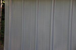 Gartenbude wie neu mit HAMMERITE Metall-Schutzlack