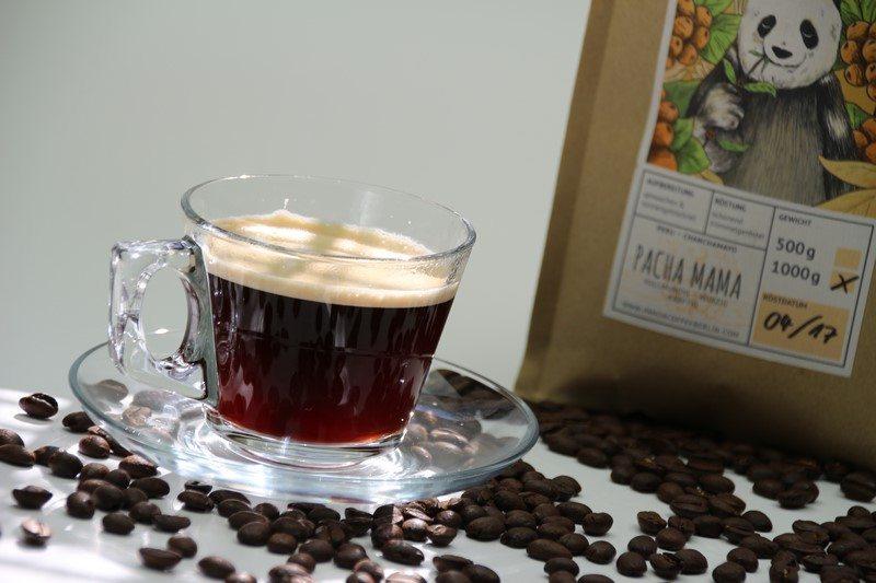 "Fairtrade Kaffee ""Pacha Mama"" von Panda Coffee Berlin im Test"