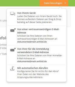 Die enfold App - endlich Ordnung in meinen privaten Dokumenten