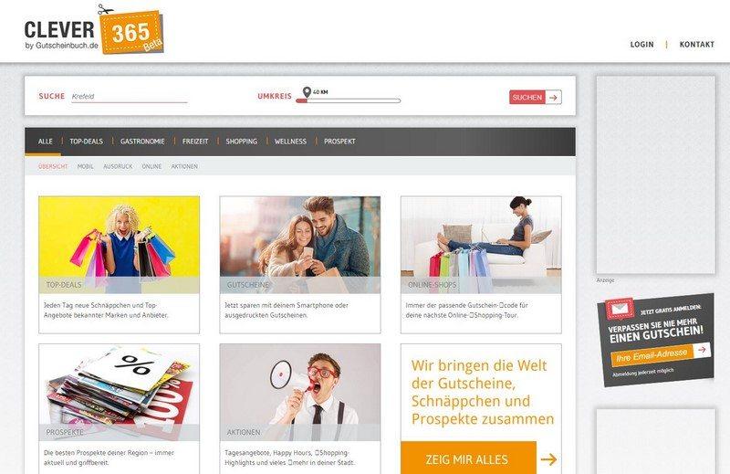 Clever sparen mit Clever365.de