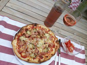 Rezept: Hot Dog Pizza