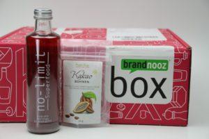 brandnooz Genuss Box Juni 2017 vorgestellt