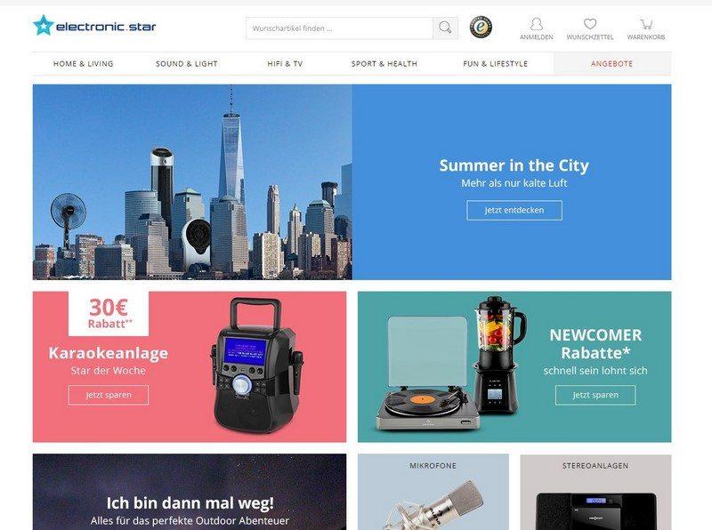 electronic.star - Der Onlineshop nicht nur für Elektrogeräte