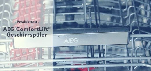 AEG ComfortLift® Geschirrspüler FSE62800P im Test
