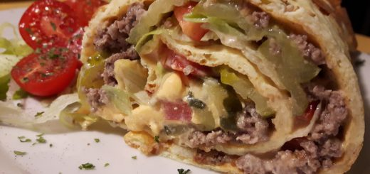 Rezept: BigMac Roll (low carb)