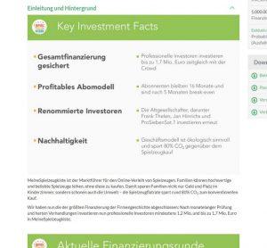 COMPANISTO - innovatives Crowdfunding für Start Ups