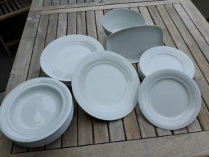 Friesland Porzellan für eine feierlich gedeckte Tafel