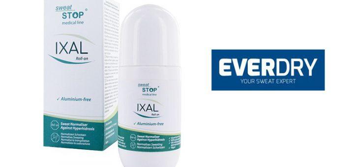 IXAL Roll-on by EVERDRY gegen Schwitzen im Test