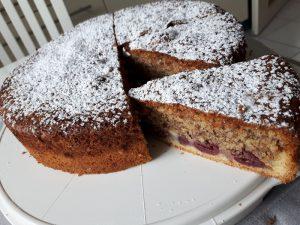 Rezept: Kirsch-Haselnuss-Kuchen