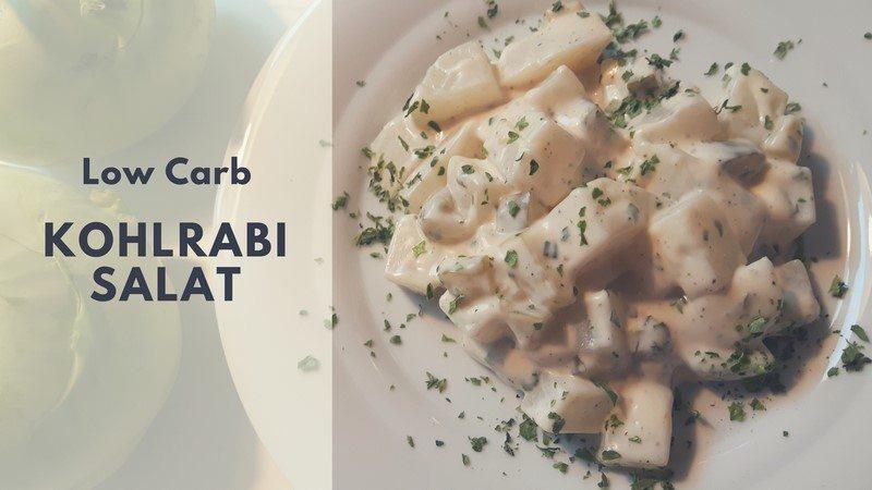 Rezept: Low carb Kohlrabi Salat